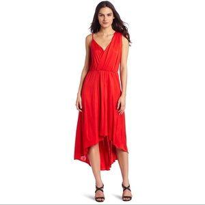 Long Dehlia Draped Silk Jersey maxi dress